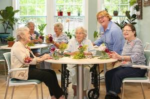 Seniors Find Peace, Relaxation With Parker's Horticulture Program in Bloom