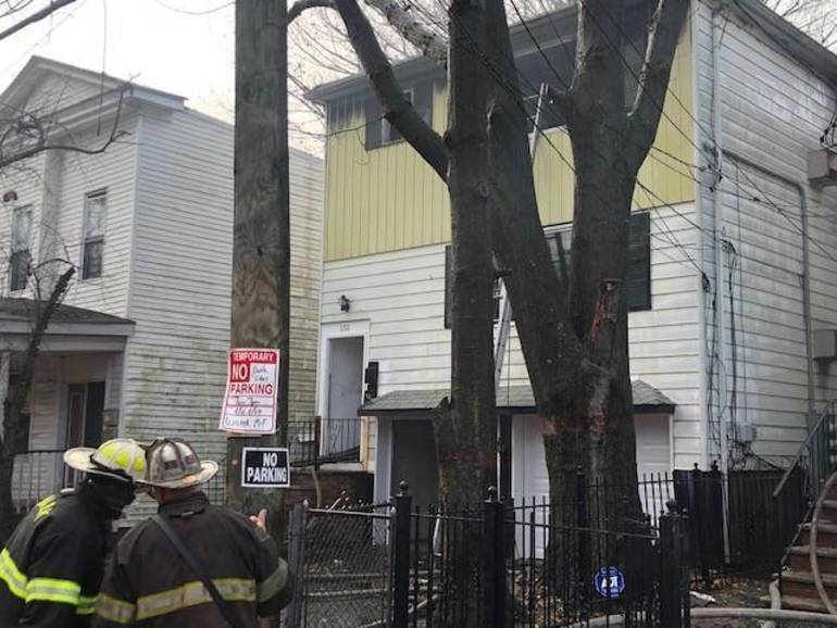 Nearly 180 Newark Firefighters Battle A Pair of Simultaneous Fires