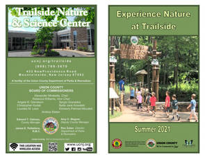 Register for Outdoor Summer Fun at Union County's Trailside Nature and Science Center, May 15
