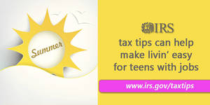 Tax tips for students working summer jobs