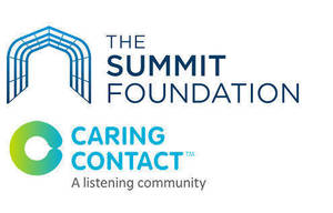 The Summit Foundation donates $13,000 to Crisis Listening Line Caring Contact