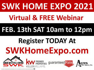 The Annual Simon Westfall-Kwong Home Expo is Virtual this Year. Free Registration Open Today