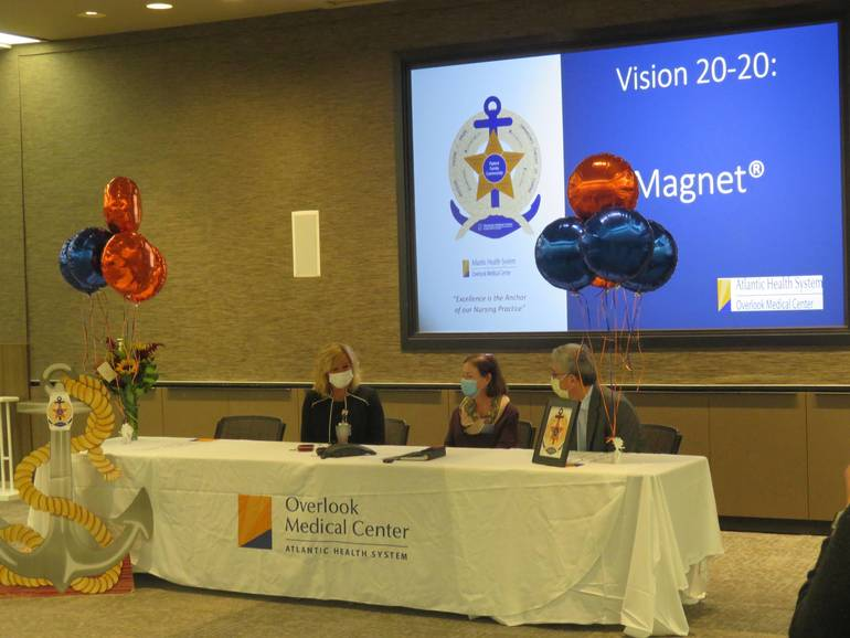 Overlook Medical Center achieves Magnet designation, the gold standard in nursing excellence