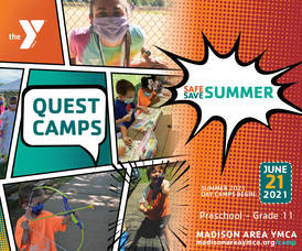 Forget the Snow- Think Summer; Madison Area YMCA Summer Day Camps Begin June 21