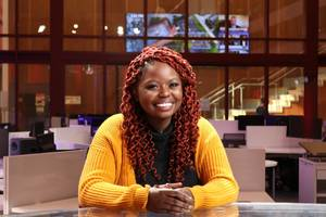 Bernice Ndegwa Recognized by Montclair State for 'Excellence' in Broadcast Journalism