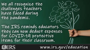A tip for teachers: Some educator expenses may be tax deductible