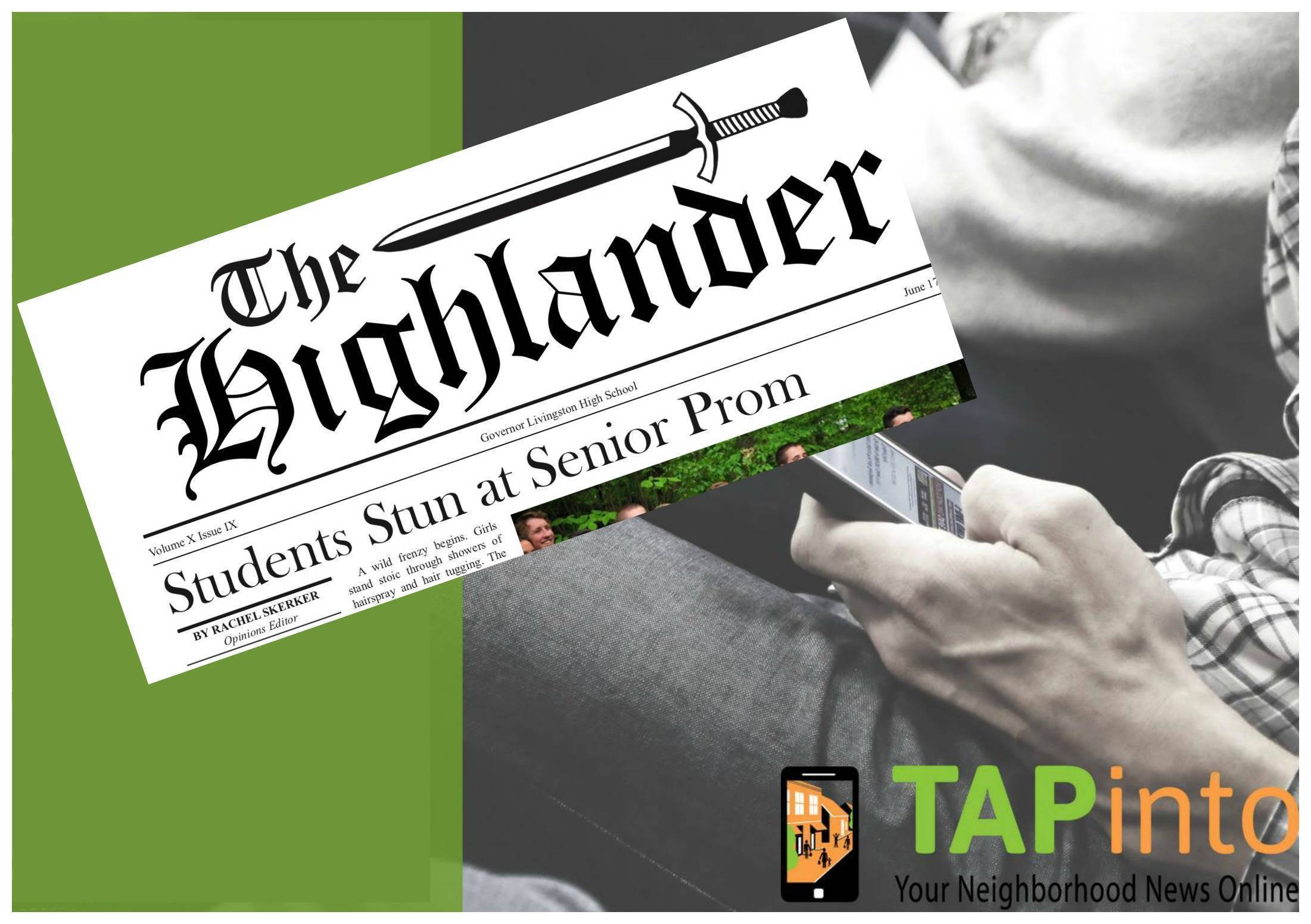 The Highlander Goes Online in Partnership with TAPinto Berkeley Heights