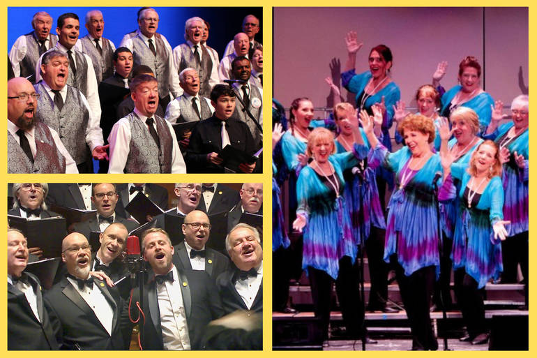 Three Local Choruses Present Free Online Show!