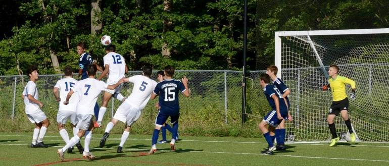 DiMaggio OT Goal Caps Chatham Boys Soccer Rally from 3-Goal Deficit; Shi Scores 2 in Cougars' Win Over Morris Catholic