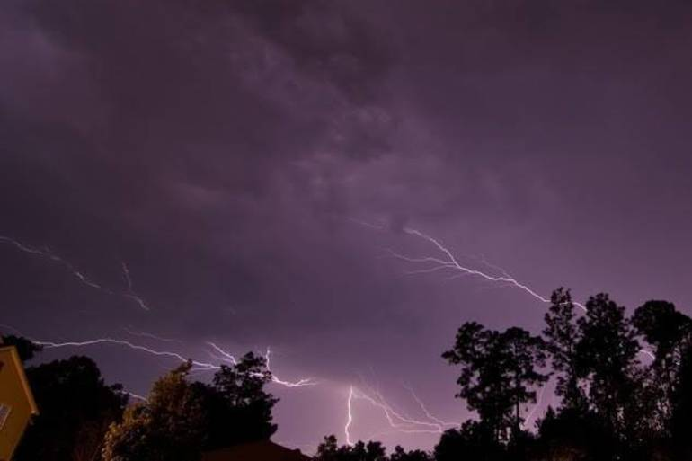 Here We Go Again, Severe Thunderstorm Warning Thursday Night