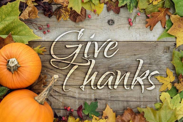 There is Much to be Thankful for this Thanksgiving