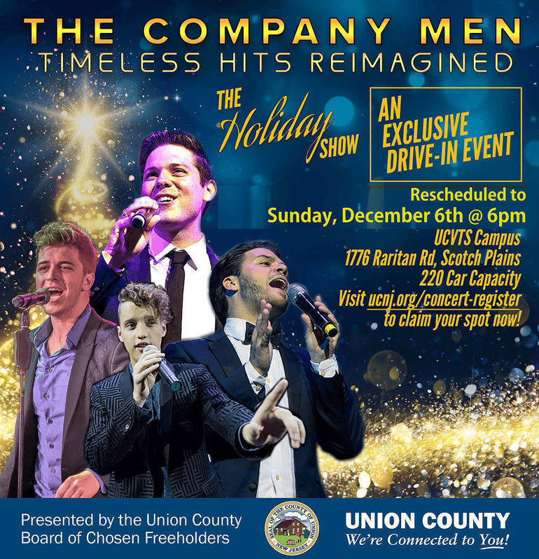 Holiday Concert Rescheduled to Sunday, December 6 in Scotch Plains