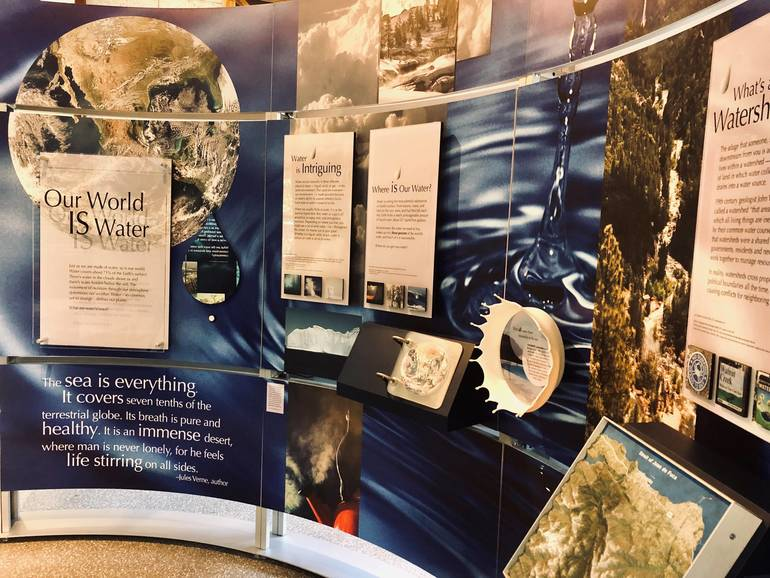 "The Smithsonian's Museum on Main Street program ""WaterWays"" exhibit will be on view at the Lake Hopatcong Foundation Environmental and Cultural Center through August 10..jpg"