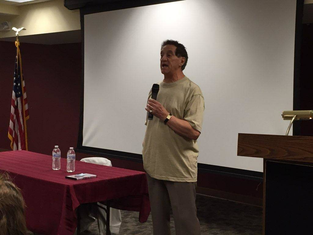 Clark Resident and Inspiration for 'Baretta' TV Series David Toma Speaks at Library