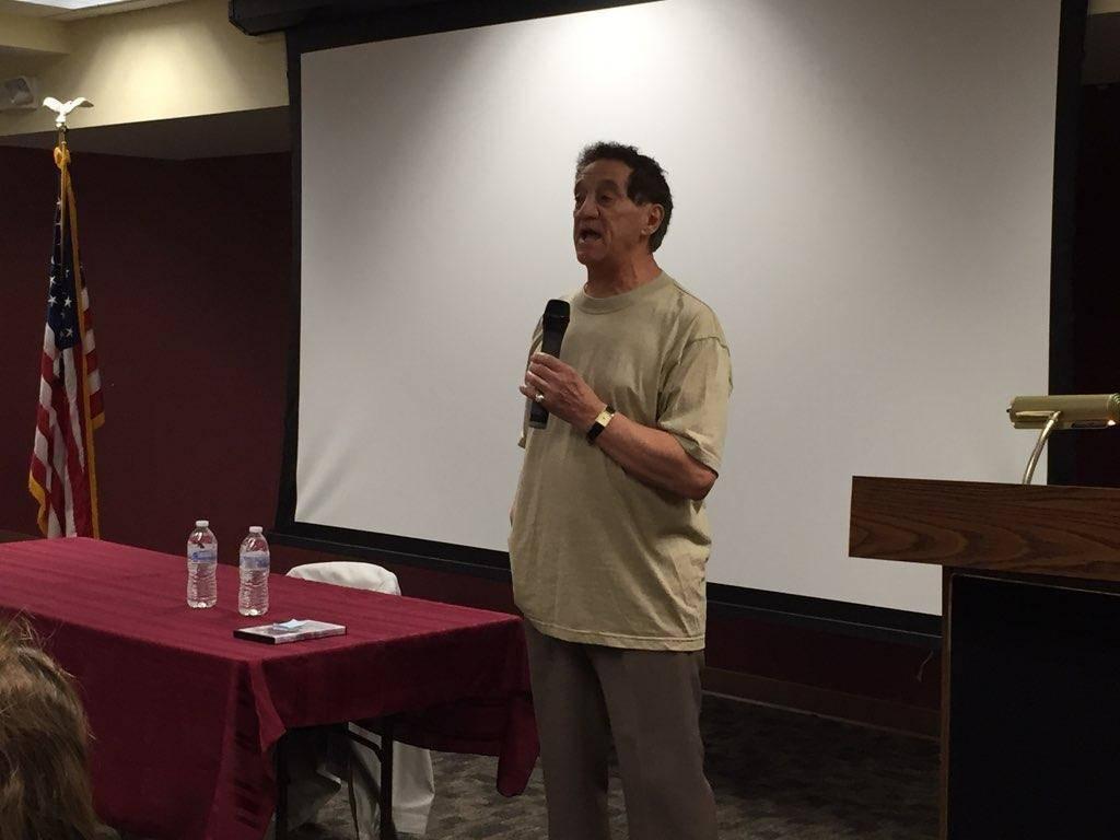 Clark Resident and Inspiration for 'Baretta' TV Series David Toma Speaks at Library