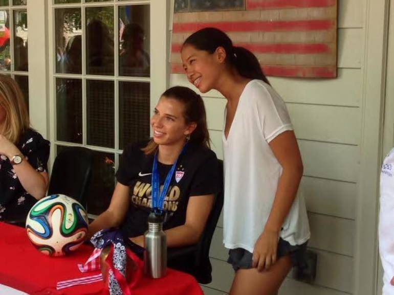 New Jersey's Tobin Heath Wins Gold Along With U.S. Women's Soccer Team