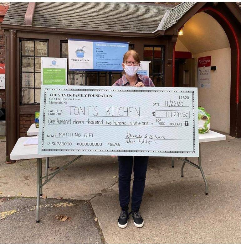 Montclair's Toni's Kitchen Receives $111K Matching Grant Donation From The Silver Family Foundation