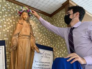Union Catholic  Continues Tradition With May Crowning Of The Blessed Virgin Mary