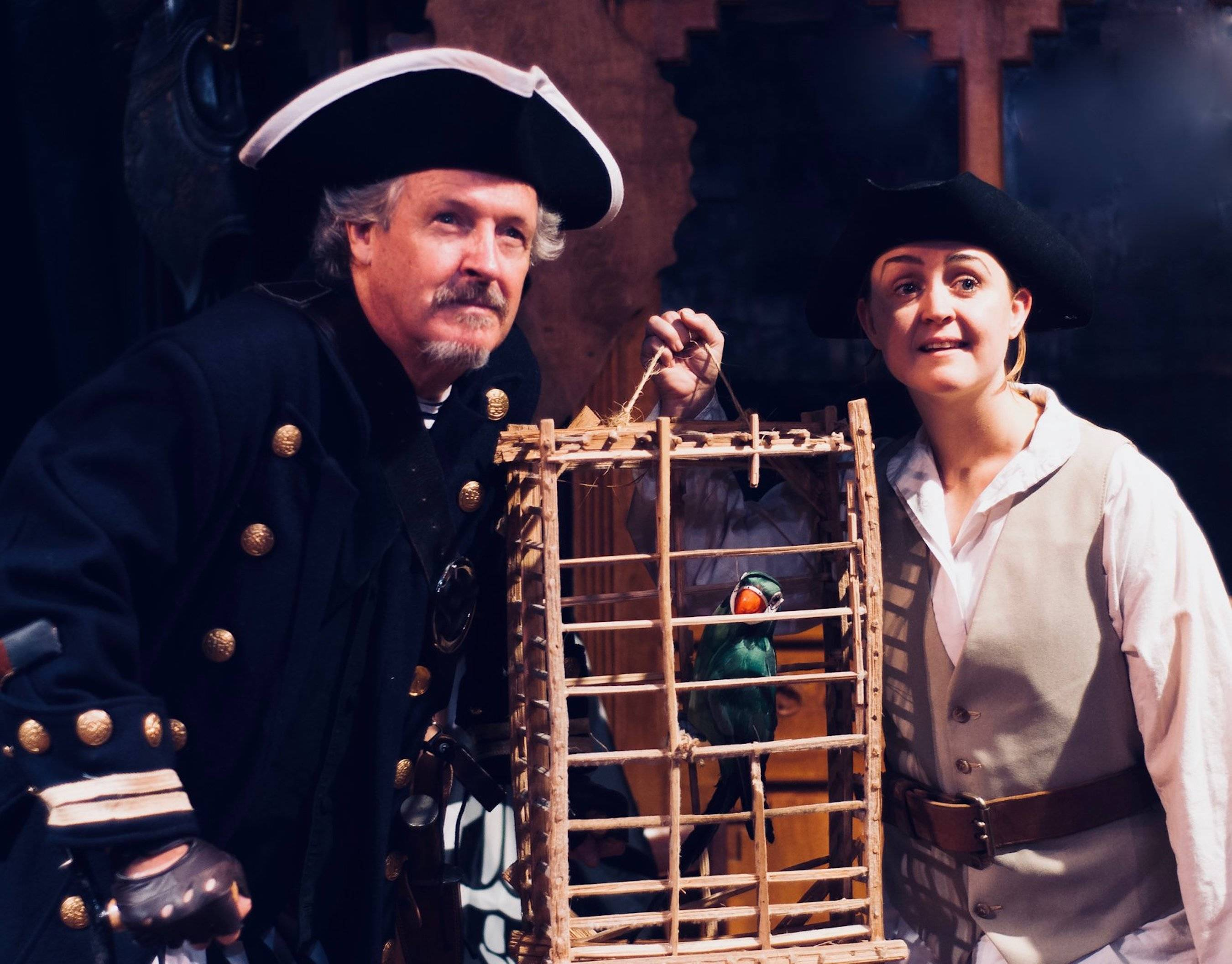 "The Lord Stirling Theater Company Performs ""Treasure Island"" at Farmstead Arts Center in Basking Ridge October 5-14"