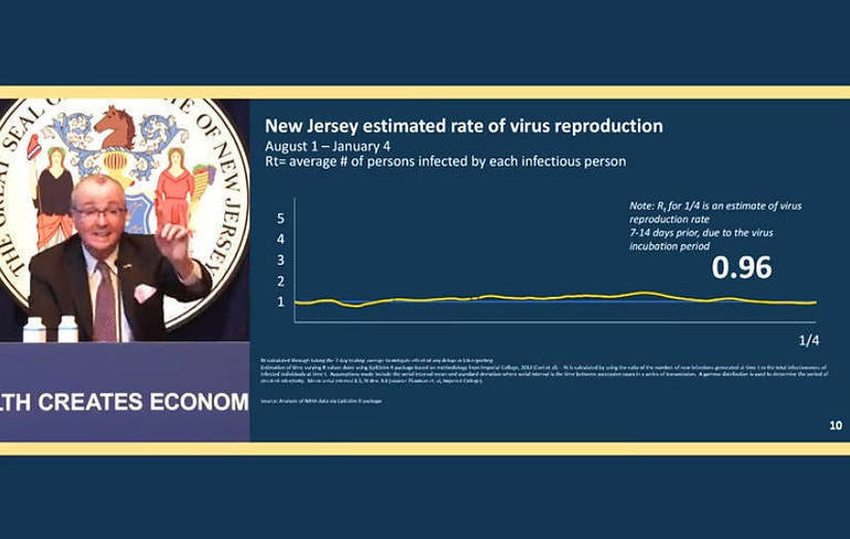 Murphy: Vaccine Pre-Registration Portal a Success; NJ Seeks Retired Healthcare Professionals to Help