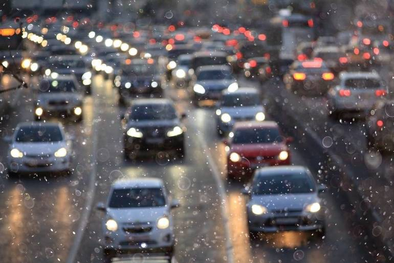 Heavy Traffic Delays Due to Accident on Rt. 24 in Morris Township