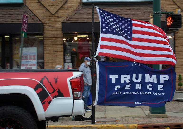 Trump Truck Parade rolls through Scotch Plains-Fanwood - pence.png