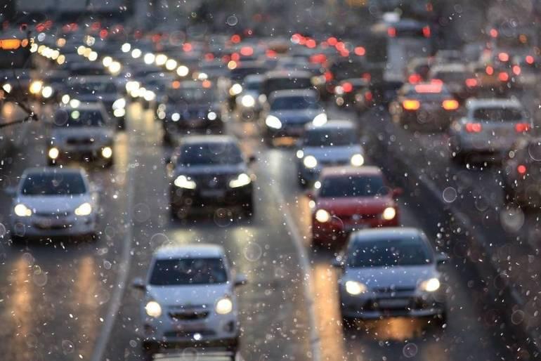 Franklin Township Traffic Alert: Car Fire Route 287, Easton Avenue Exit