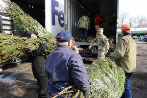Trees for Troops Allows Christmas Tree Donations to Military Families