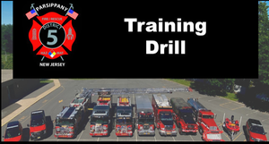 Parsippany District 4 Fire Department to Hold Large Scale Training Drill on Sunday