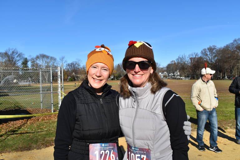 Runners from Clark