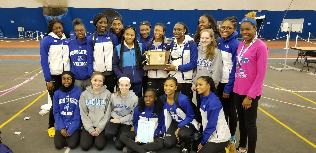 UC girls 2019 indoors state Non Public A track.jpg