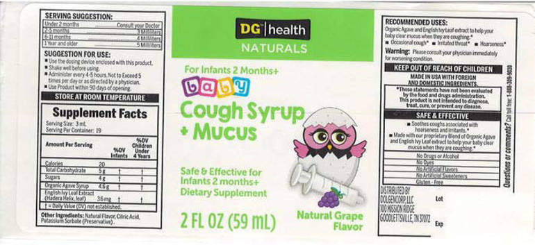 Baby Cough Syrup + Mucus Recalled Due to Possible Health Risk