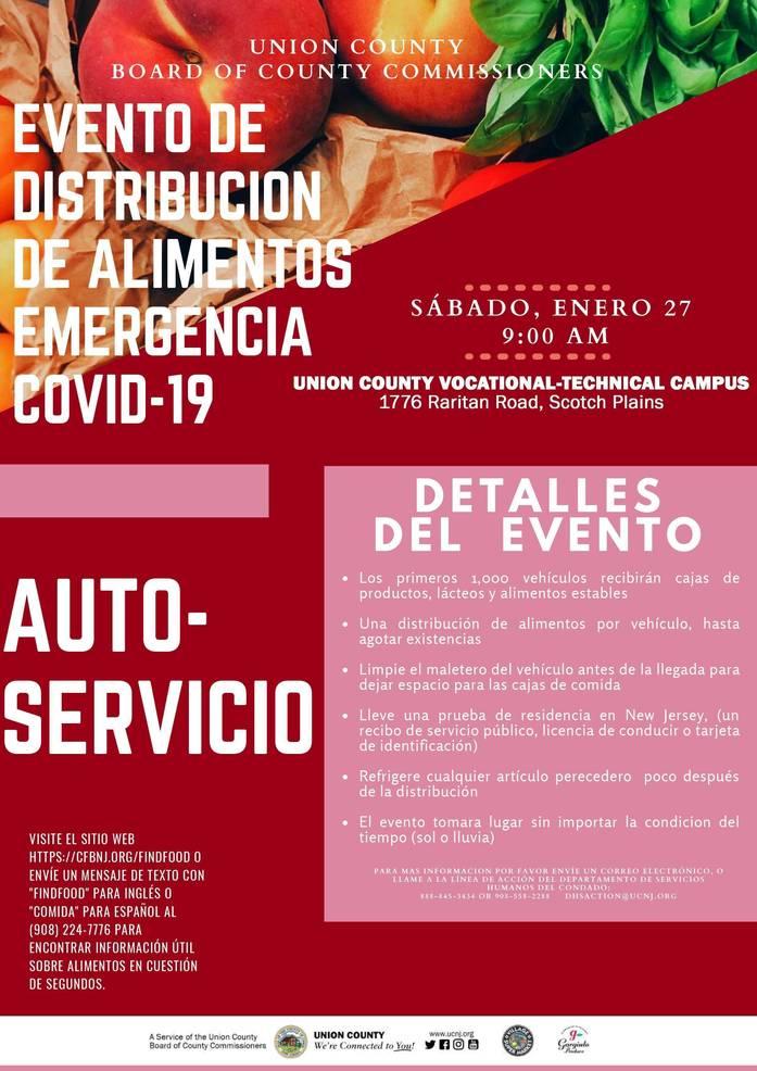 COVID-19 Emergency Food Distribution, Feb. 27