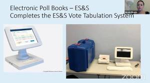 Electronic polling books in which voters will sign in for Union County NJ elections