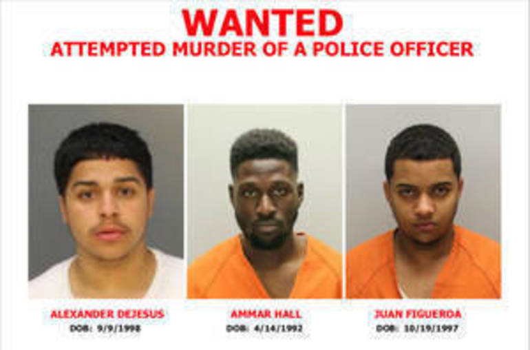 Three Men Charged in Shooting of CCPD Officers; Manhunt Continues