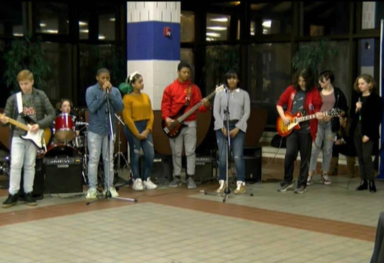 Renaissance Middle School's Rock Band