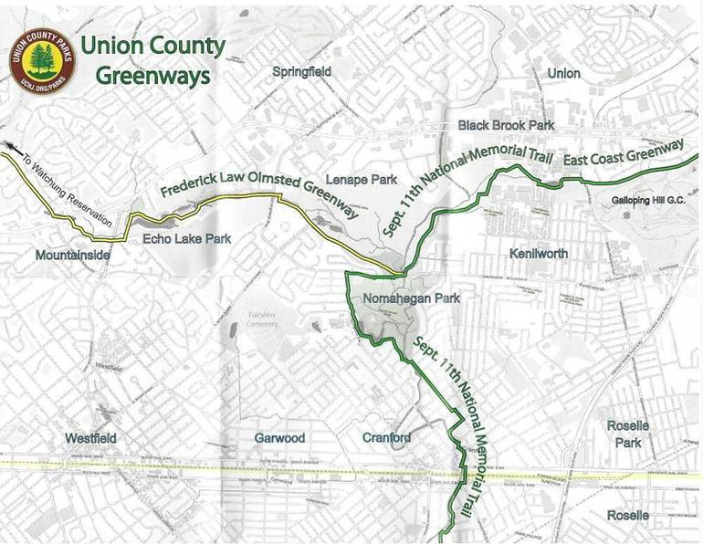 Advocacy Group Proposes Turning Unused Rail Line in Cranford Into Walkable, Bikeable Trail