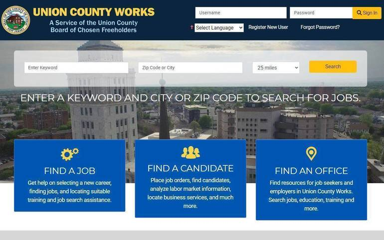 Union County Works home page.JPG