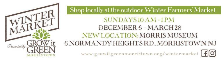 Morristown's Winter Farmers Market Announces Vendors for Sun. Jan. 24