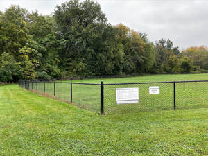 Dog Off-Leash Area at Chatham's Shepard Kollock Park Now Fully Enclosed by Fencing