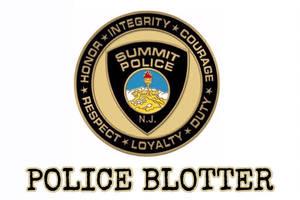 Summit Police Blotter