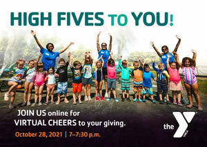YMCA Virtual Cheers Event: Join in for the Thank You!