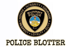 Summit Police Blotter
