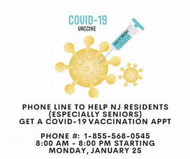COVID-19 Vaccine Scheduling Phone Line Opens Today