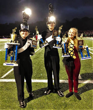 North Plainfield Places in Marching Band Invitational