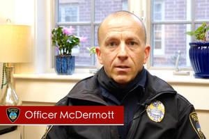 Summit Police Officer McDermott