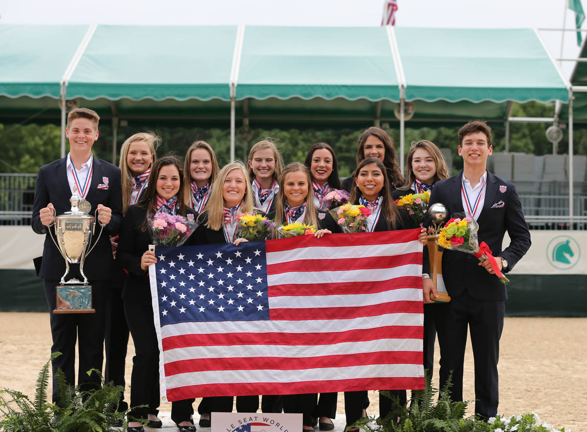 US saddle seat team.JPG