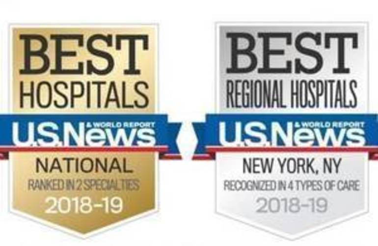 Morristown Medical Center Rated Number One Hospital in New Jersey by U.S. News & World Report