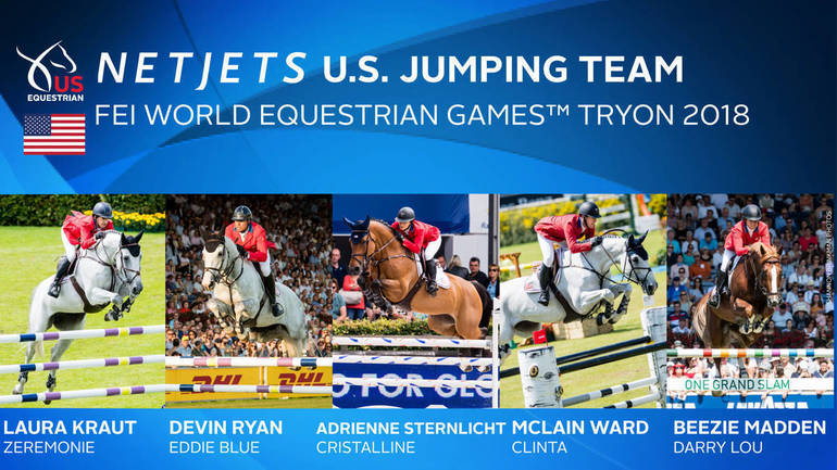 N.J., N.Y. Riders Named To U.S. Jumping Team for FEI World Equestrian Games