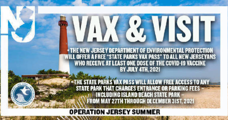Free Entrance to State Parks For Those Vaccinated by July 4